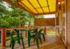 terrasse chalet bois